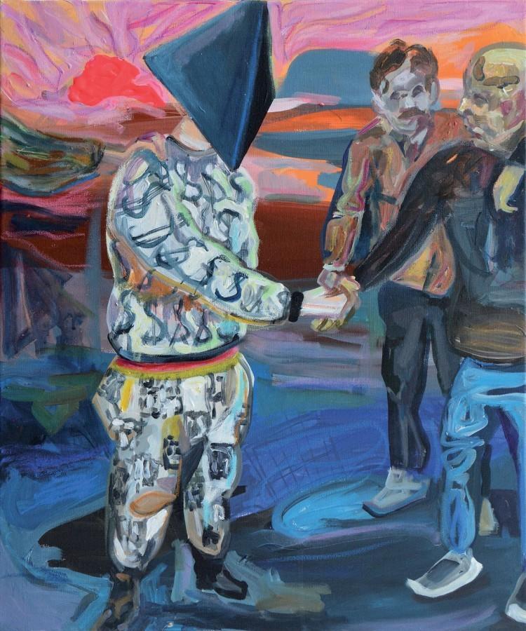 Art Alarm – Wolfang Neumann, Faschong, 2015, 60 x 50 cm