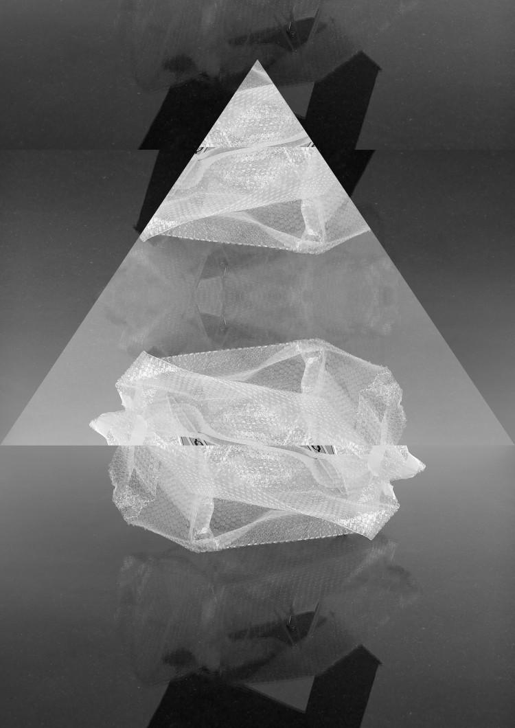 "Art Alarm – LELLO//ARNELL: ""Poems for Infrastructure"", 2017, gerahmte Fotocollage, 120 x 90 cm"