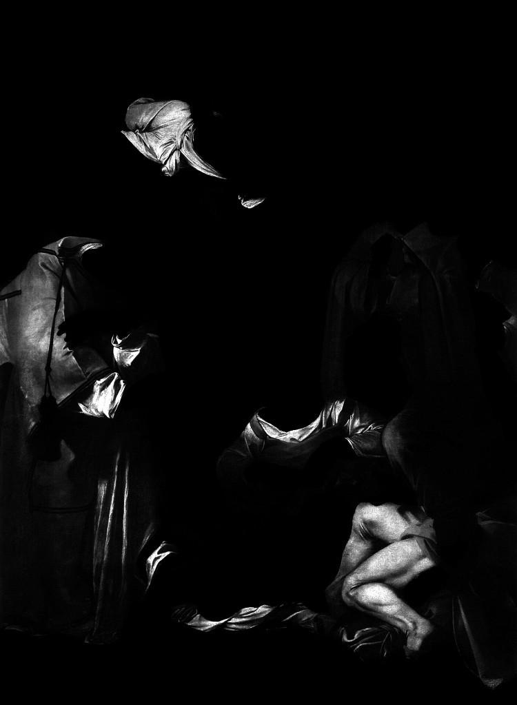 Art Alarm – Manoel Veiga, Matéria Escura #24, 2015, Fotografie auf Leinwand, 39 x 29 cm