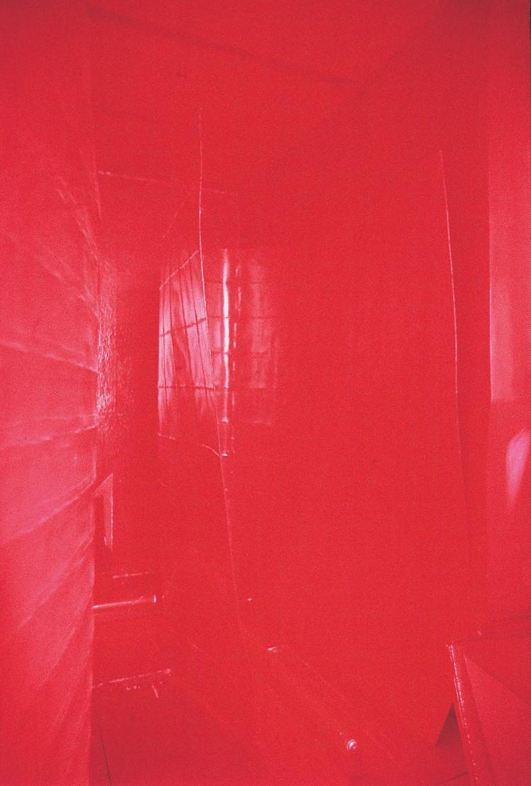 Art Alarm – Platino: Extern 50.4, 1985/2011,  Cibachrome, Acrylglas, Aluminiumrahmen, 210,9 × 140,6 × 2,5 cm, Foto: Platino