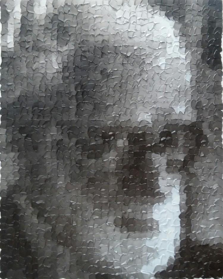 Art Alarm – Sami Lukkarinen, Sigmund Freud, 2016, Öl auf Leinwand, 100 x 80 cm
