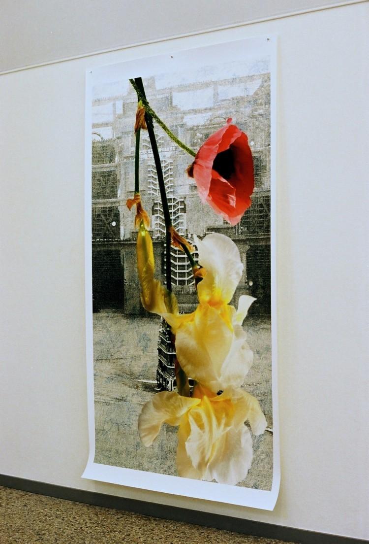 "Art Alarm – Silvie Defraoui, ""Faits et Gestes"", 4-c Photo, 284 x 120 cm"