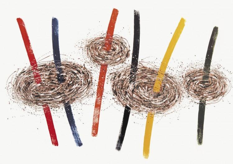 Art Alarm – Giuseppe Scaiola, Terra, 20123, 200 x 150 cm, Acryl auf Lw