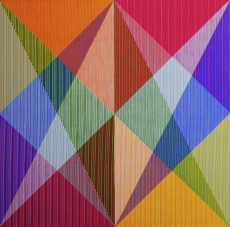 Art Alarm – Antonio Marra, Eddy, das Schlitzohr, 2015, Acryl auf Leinwand, 150 x 150 cm