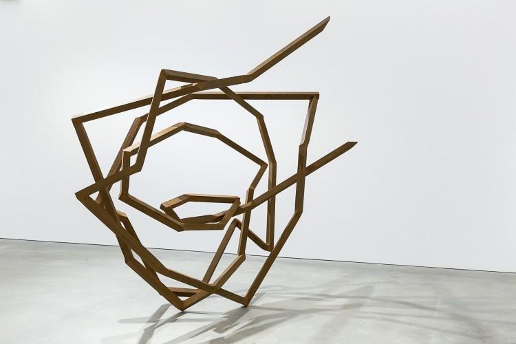 Art Alarm – Robert Schad, RUMONI, 2017, Vierkantstahl 60 mm, 281 × 72 × 179 cm