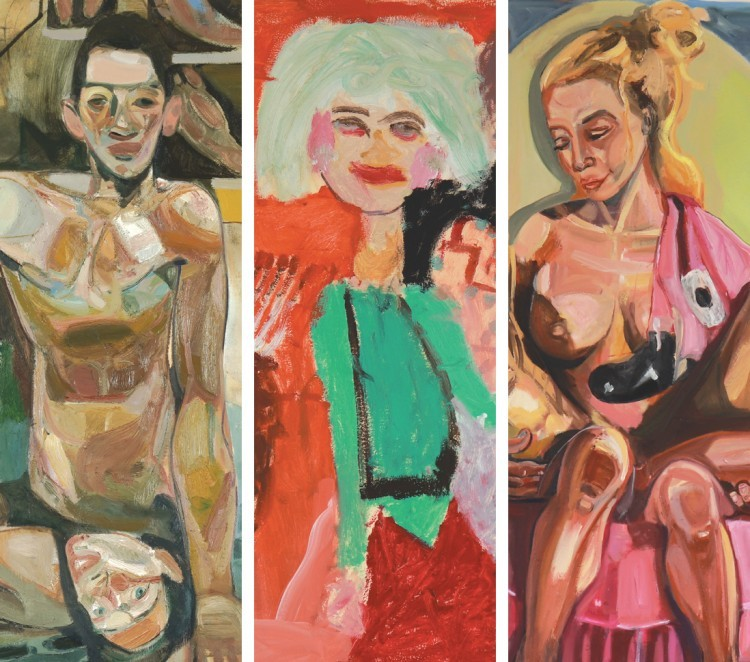 Art Alarm – Tesfaye Urgessa (li), Zoe Urgessa (Mitte), Nina Raber-Urgessa (re), jeweils Details
